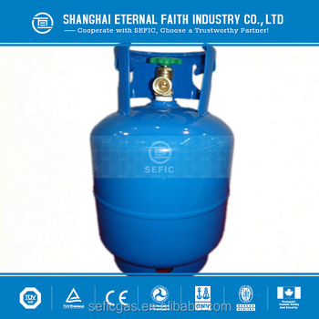 Top Quality 12 5kg Empty Lpg Gas Cylinder Factory Sale For Yemen