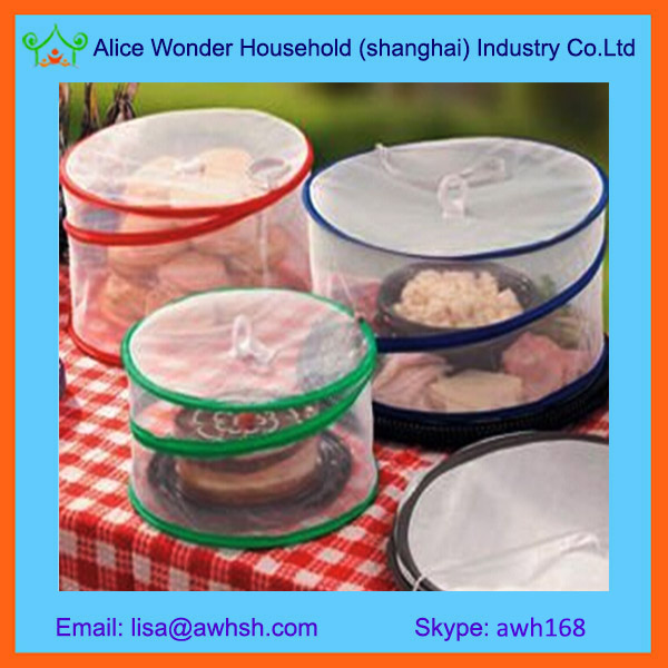 Mesh Screen Foldable Pop Up Food Cover