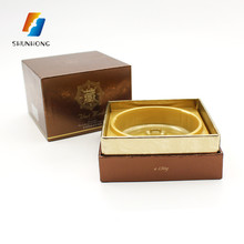 Cosmetic paper facial cream hard cardboard gift box case packaging folding customized logo box