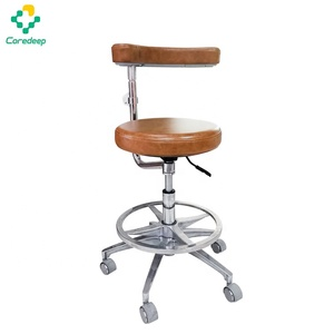 Hot selling dental clinic hospital equipment medical dentist stool assistant chair