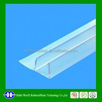 good price clear plastic shower door seal strip