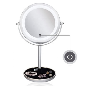 5X Magnifying Makeup Cosmetic LED Touch Mirror Light Beauty Mirror for Women Makeup Tool
