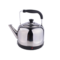 Big Capacity Kitchen Appliances Electric Kettle with SS Lid and SS Handle
