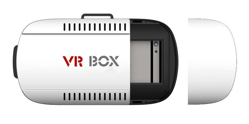 "hot selling Vr box 3d glasses for 3.5"" to 6.1"" Smartphone 3d Video Glasses and vr box for iphone and all android phones"