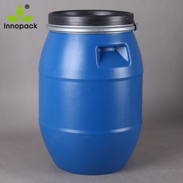 200 litre 55 gallon plastic drum open top HDPE barrel