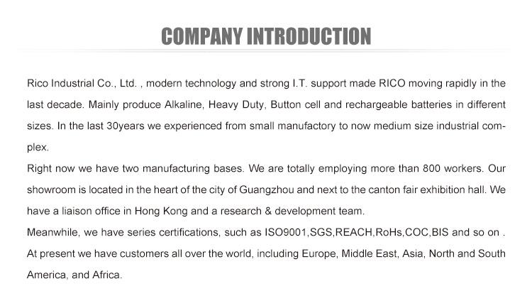 최고의 품질 휴대용 9 V 6lr61 슈퍼 알카라인 배터리 CE/SGS/ROHS/REACH/ISO9001