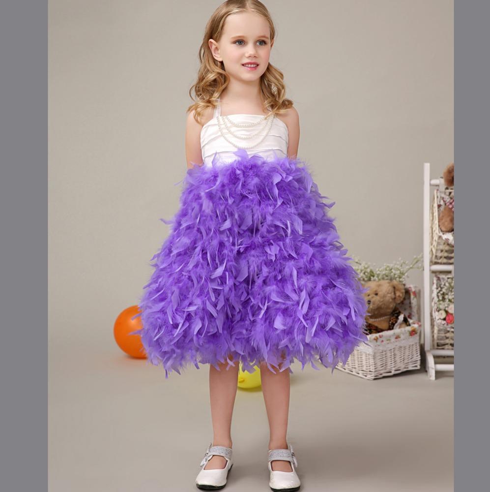 Children Wedding Dress Kids Strapless Dresses Kids Fashion Wedding ...