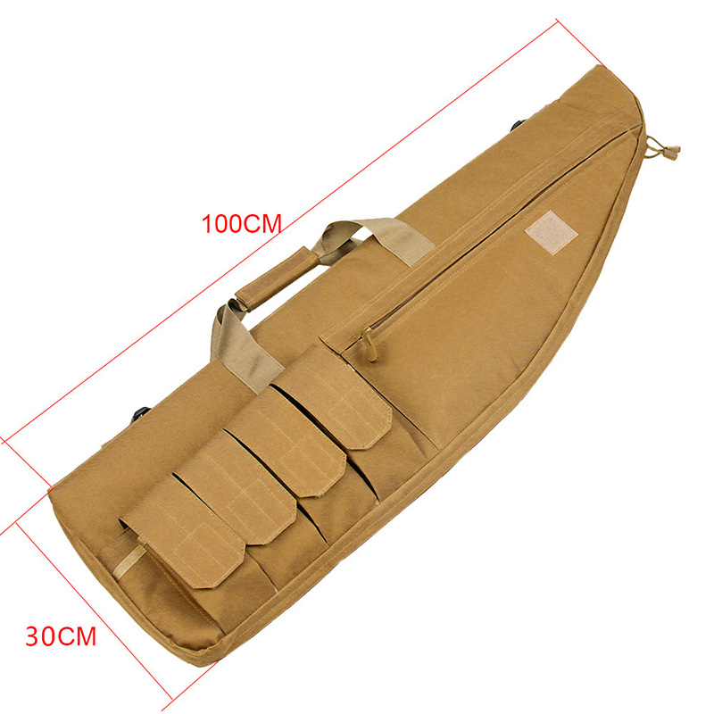 Tactical carry case nylon airsoft case gun case nylon gun bag for long rifle for hunting for shooting
