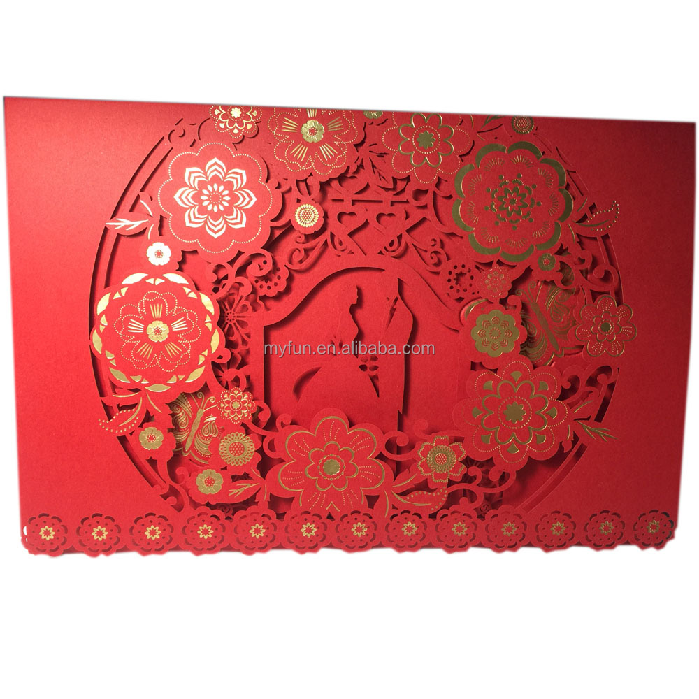 Chinese Wedding Invitation Card Supplieranufacturers At Alibaba