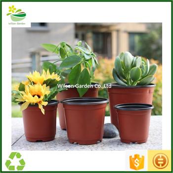 wholesale cheap plastic flower pots pot garden pots for. Black Bedroom Furniture Sets. Home Design Ideas