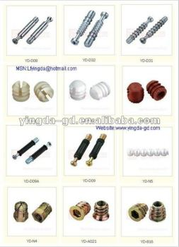 High Quality Different Types Furniture Connector Furniture Hardware Screw Nut Bolt From Cam Bolt Nut Factory View Furniture Hardware Screw Nut Bolt Yingda Product Details From Lufeng Yingda Furniture Fittings Ltd On