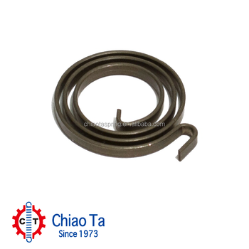 Customized Steel Flat Constant Power Spiral Spring with ISO9001:2008