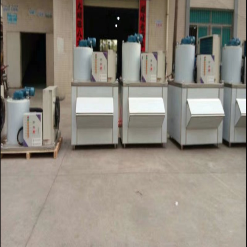 industrial machinery yogurt maker flake ice machine 0.5tper day ddry fish dish storage costume small