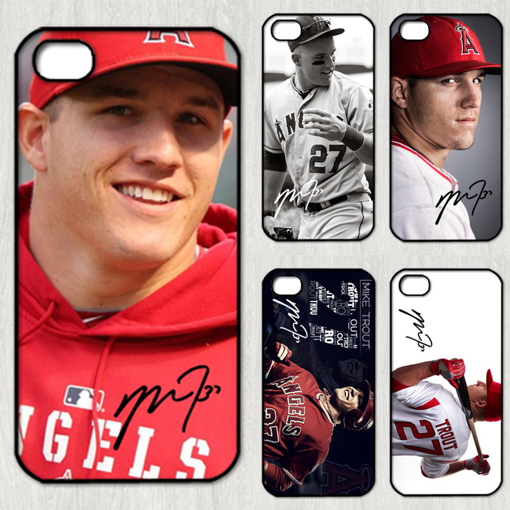 Stargazing Wishes In Anaheim Ca: Mike Trout Signed MLB Star Los Angeles Angels Of Anaheim