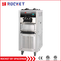 New industrial stainless steel table top used soft ice cream machine for sale