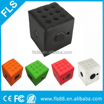 PVC/PU Leather Couch Chair/Ottoman/Foot Stool Bluetooth Speaker With 10W*
