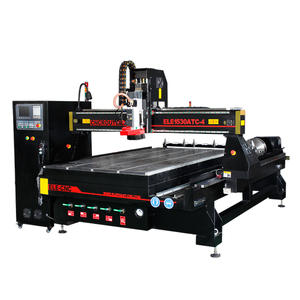 European quality 1500*3000mm working size atc cnc router , 4 axis cnc , wood carving cnc router