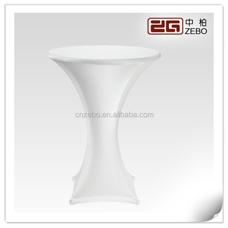New Listing White Cocktail High Top Table Stretch Spandex Covers Table  Linens For Sale   Buy High Top Table Cover,White Cocktail Table Spandex  Covers ...