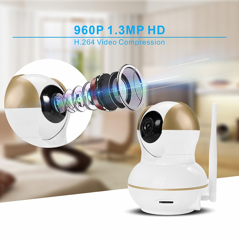 two way video ip camera 64gb wireless home security camcorder