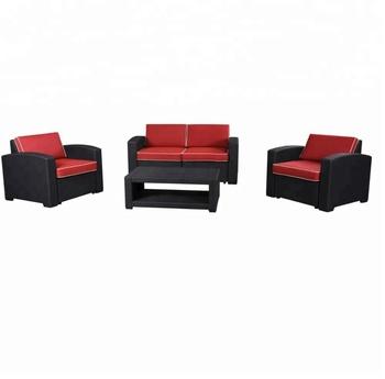 Outdoor Rattan Pattern Plastic Sofa Set - Buy Plastic Sofa Set,Sofa  Set,Rattan Sofa Set Product on Alibaba.com