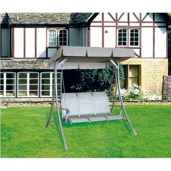 Stainless Steel Iron 3 seat patio swing chair with canopy & Stainless Steel Iron 3 Seat Patio Swing Chair With Canopy - Buy ...