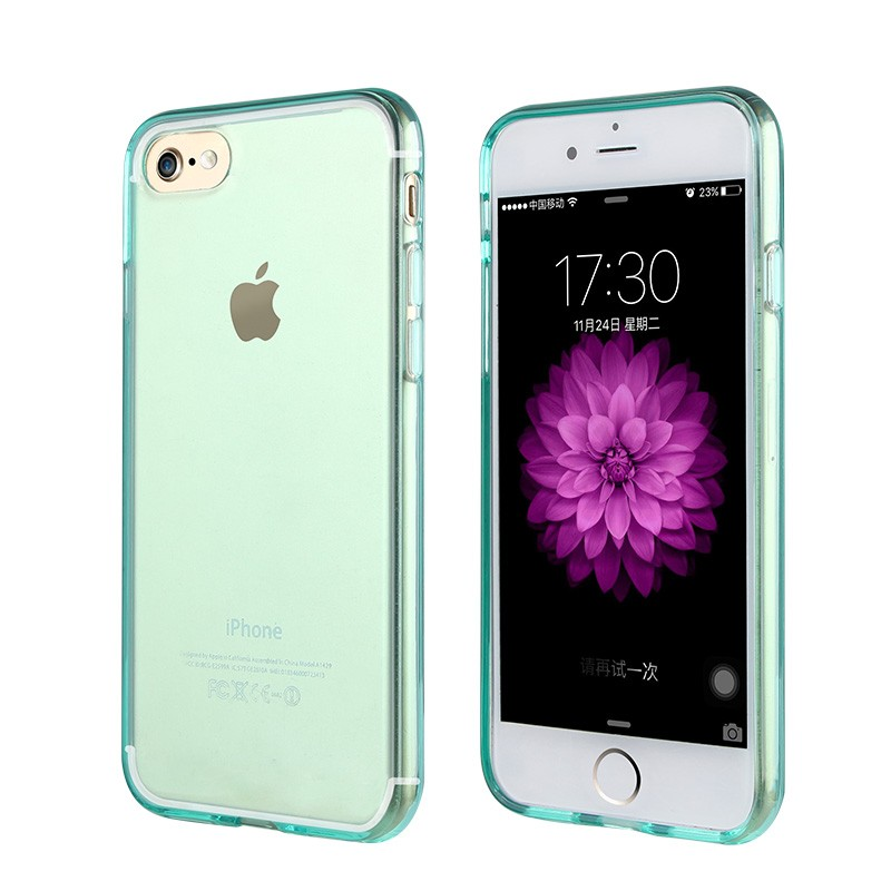 For iphone 7 Crystal Skin Cover case,soft tpu cover case for iphone 7