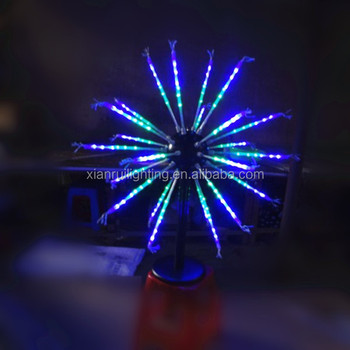 Outdoor Landscape Decor Christmas Time Modern Led Fireworks Light ...