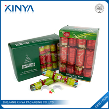 XINYA China Factory Fanny Christmas Crackers Manufacturers Christmas Ornament With Extra Gift