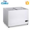DC-160FG Glass Door 160 Liters Stand Alone Freezer With Ice Maker