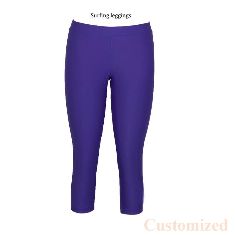d9a89a5f3 UPF 50 high stretch Women Swim Pants Tights Sports long Surfing Legging  swimsuit