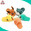 cute stuffed winter indoor slippers plush pokemon slippers