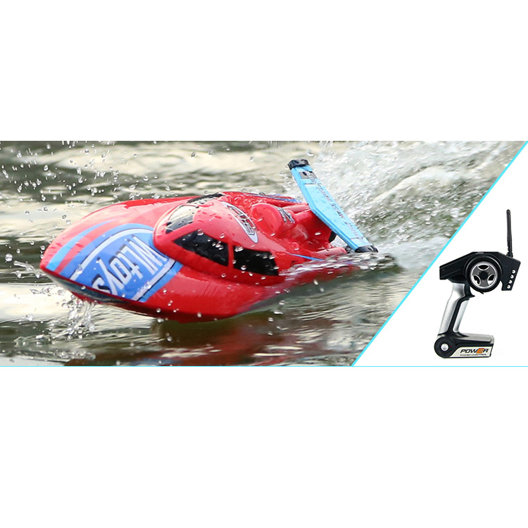 plastic fast speed miniature toy water remote control boat for sale