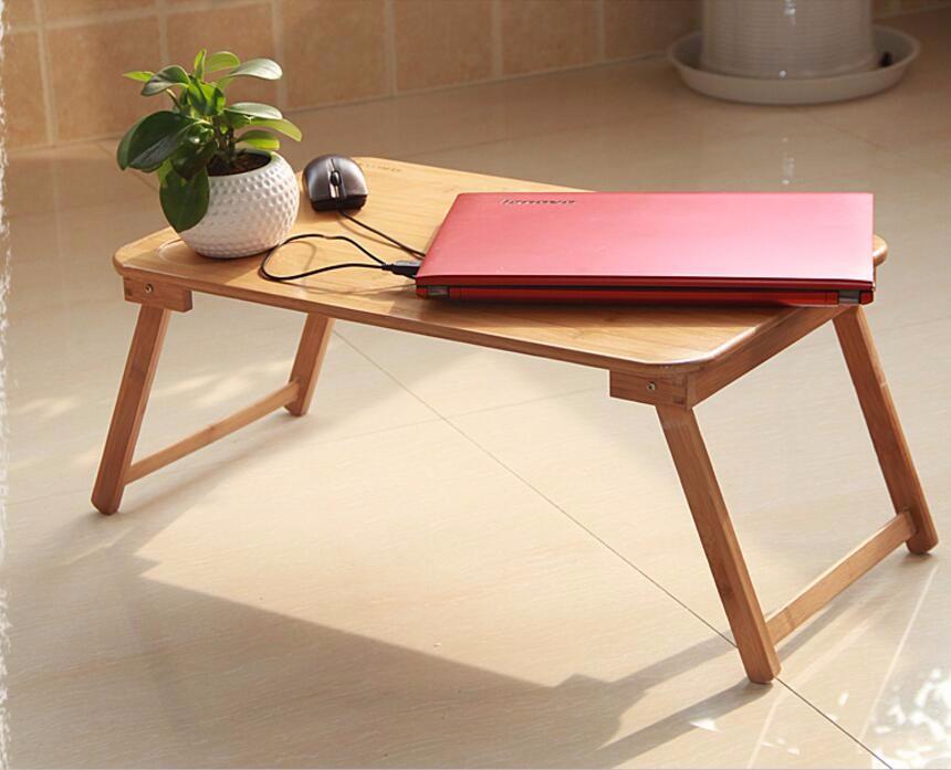 Magic Union Adjustable Laptop Desk Folding Notebook Desktop Stand With Cooling Fan Laptop Bed Table Bed Tray Study Desk Diversified Latest Designs Laptop Desks