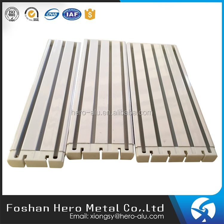 Remote control automatic electric curtain aluminum sliding window track