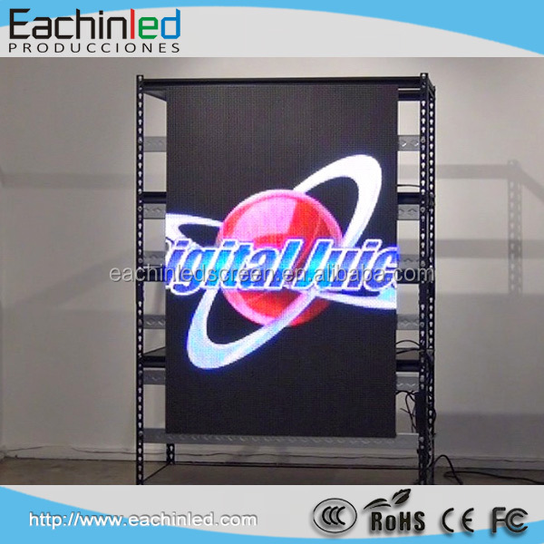 Aplicações de Led parede de vídeo HD led full color display card
