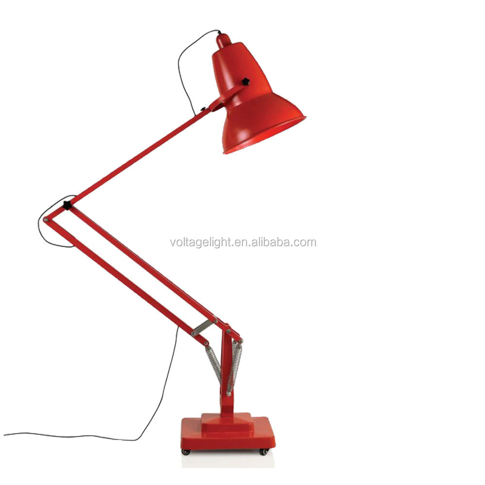 Modern Decorative Giant Metal Standing Lamp Red Black White Color ...