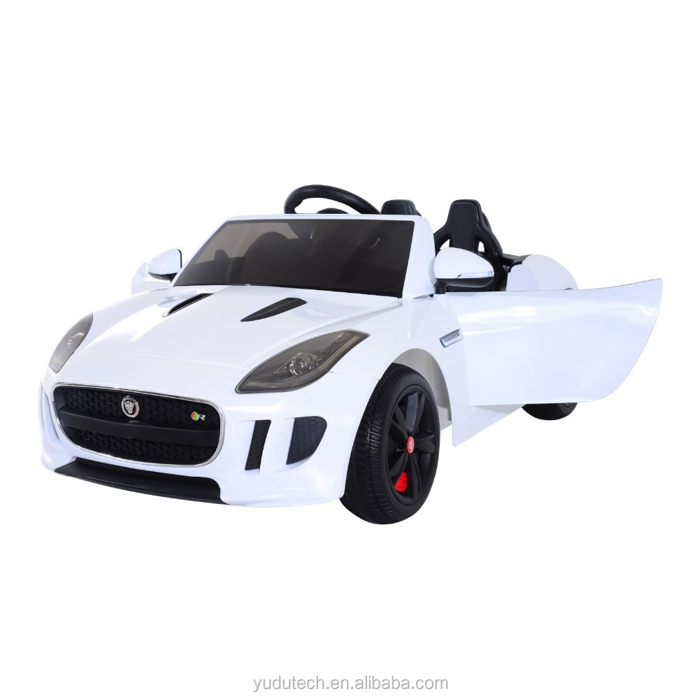 Electric Ride On Cars >> White 12v Jaguar F Type Convertible Kids Electric Ride On Car With Mp3 And Remote Control Buy Newest Ride On Car Remote Control Baby Electric Car