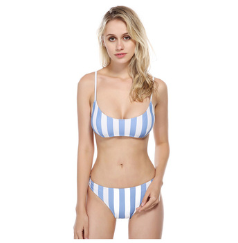 d29bd2896a3 2019 Sexy mujer, chica en Bikini, Bikini brasileño con Tanga a granel de  leopardo