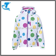 Latest Girls Waterproof Padded Ski Clothing Ski Jacket