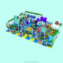 Kids indoor naughty playground equipment castle