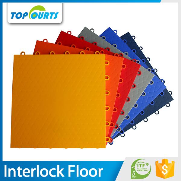 Groothandel goede prijzen nieuwe pp plastic grijpende mat tegels hof draagbare dance floor - Mat tegels ...