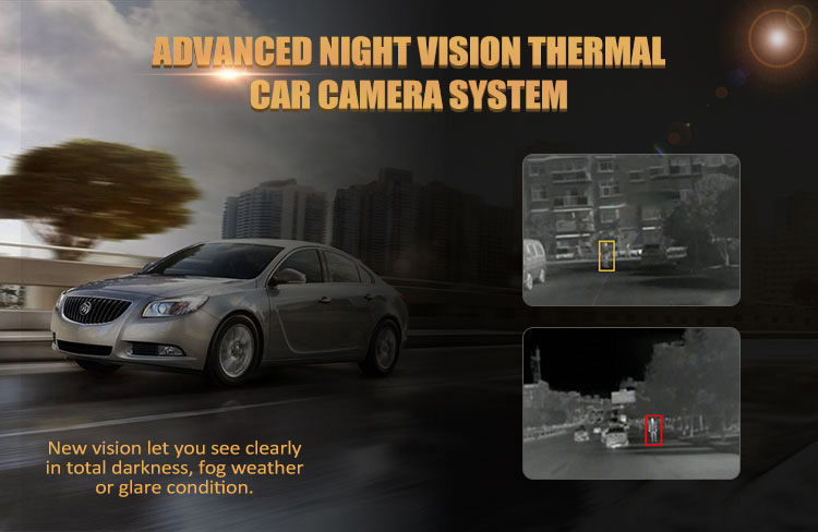 High quality Night Vision Infrared Thermal Car Camera