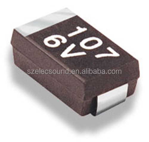 10uF 50V Standard CA45 Chip Tantalum Capacitors with TAPE Reel pack
