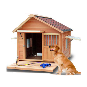 Wholesale Cheap Wooden Dog House Pet House Kennel,Commercial Custom Large Mdf Wooden Dog Cage,Wooden Puppy House
