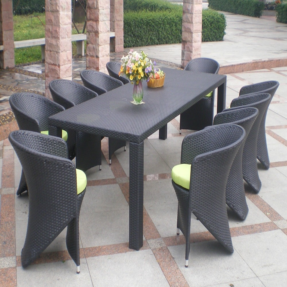 Georgia Restaurant 10 Seater French Outdoor Home Furniture