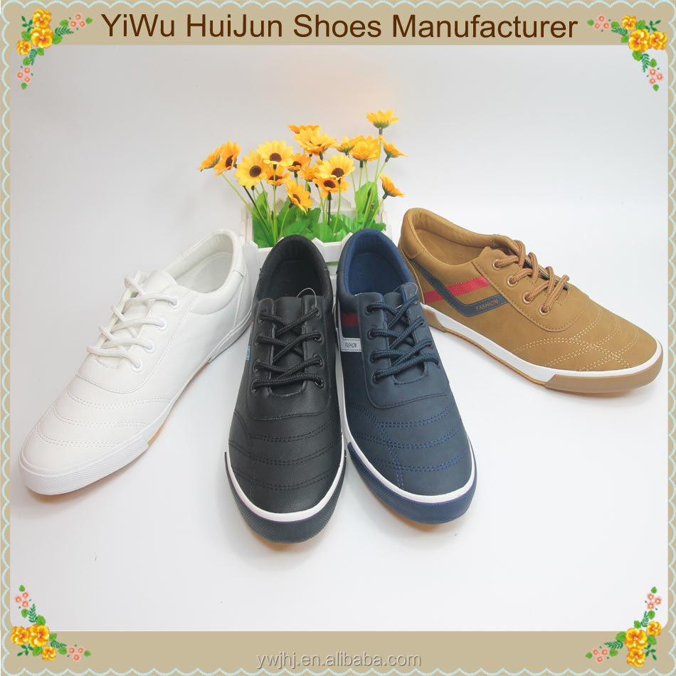 Factory wholesale high quality fashion lot stock men casual shoes