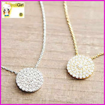 Hot new products for 2015 ebay high quality round plain cubic zircon hot new products for 2015 ebay high quality round plain cubic zircon pendant 18k gold necklace aloadofball Image collections