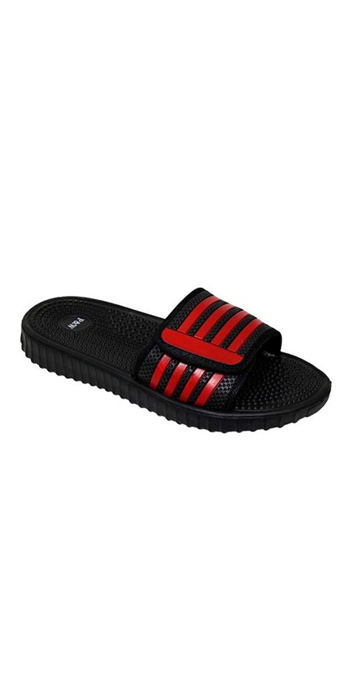 25179747c7114 Get Quotations · SLR Brands Men s Slides Slip On Sandal Slipper Comfortable  Shower Beach Shoe Flip Flop