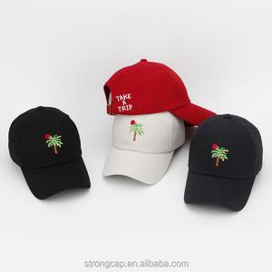 1925b77f4cd Korean palm embroidery old baseball cap classic golf hat fashion joker  adult comfort peaked cap hat