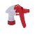 Various closure custom strong trigger wholly plastic garden sprayer